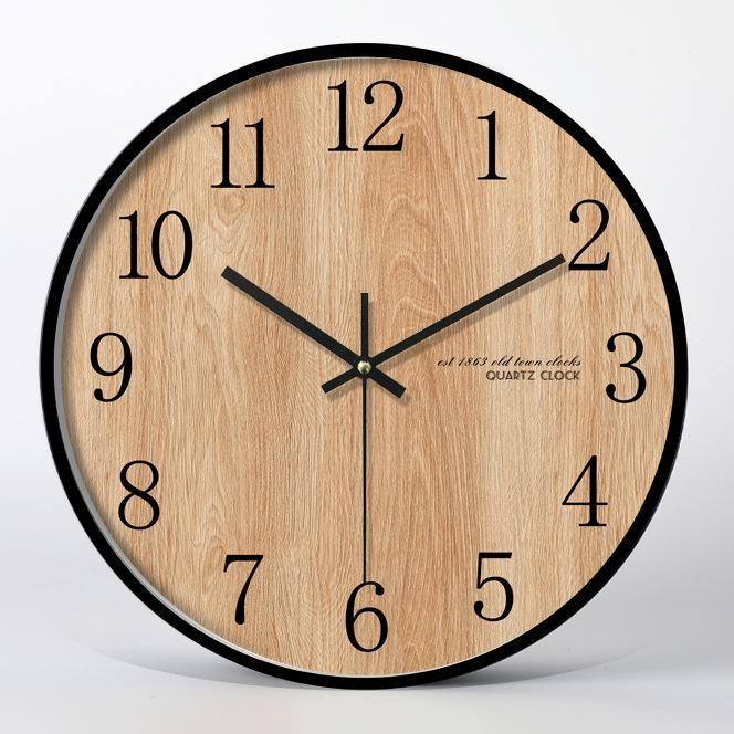 Timber Wall Clock Maccorral Wall Clock Clock Timber Walls