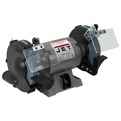 Jet 577102 Jbg 8a 8 Inch Bench Grinder With Images Bench Grinder Industrial Bench Bench Grinders