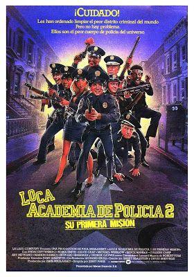 Loca academia de policía 2 - online 1985
