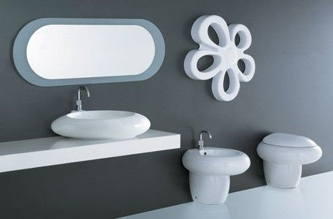 Funky Bathrooms - Unica fun bathroom themes from Cosmogres