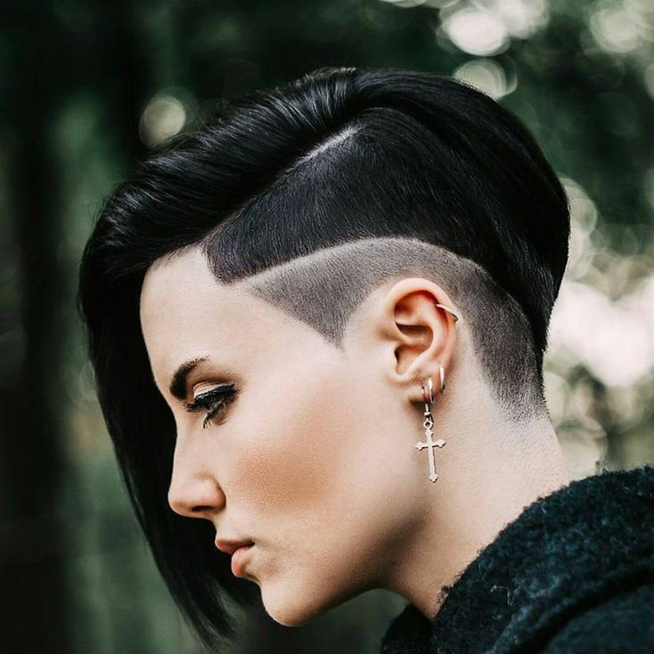 Super 1000 Ideas About Shaved Side Hairstyles On Pinterest Side Short Hairstyles Gunalazisus