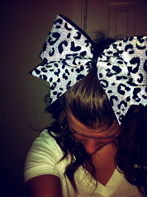 Cheer Bow - Oh. My. Goodness! <3 http://www.etsy.com/listing/116922433/sequin-cheetah-bow?ref=sr_gallery_17&ga_search_query=Cheetah+Sequin+Cheer+Bow&ga_view_type=gallery&ga_ship_to=US&ga_search_type=all