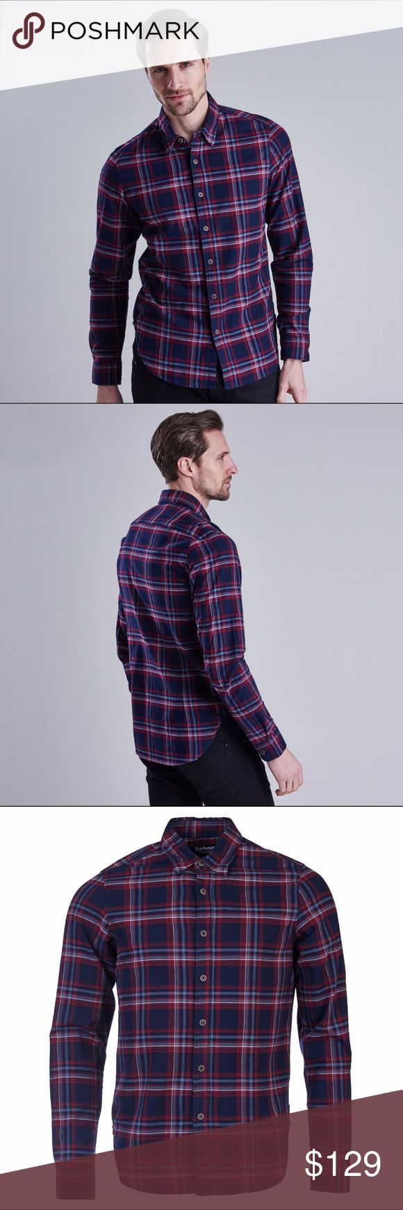 Ashton Kutcher's pick: Barbour Lane Shirt The Barbour International Lane Shirt is made from robust cotton twill with a bold, biker-inspired check design. Its button-down collar and slimmer fit add a modern edge. 100% cotton twill Slim block. If your brand new Barbour shirt doesn't fit perfectly, Barbour will be happy to exchange it for you for a different size. Open up an support case via the Support Center in the Poshmark app, to start the exchange process. Please note, exchanges are only…