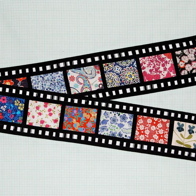 movie strip fabric pair confiscate