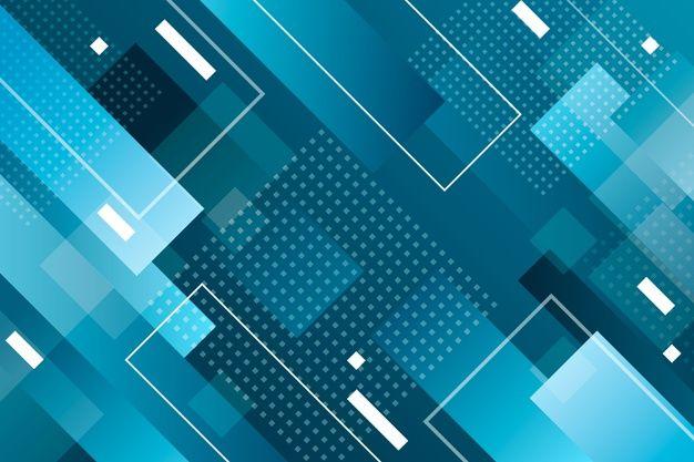 古典的な青の幾何学的な背景を無料でダウンロード Geometric Background Classic Blue Futuristic Background