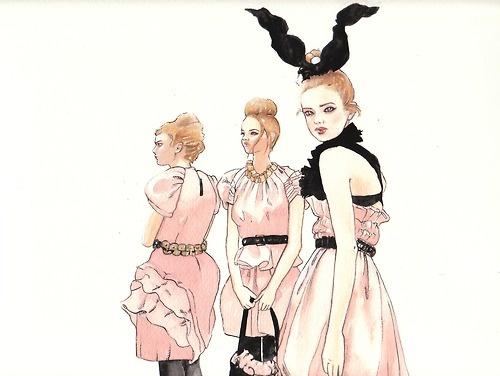 Wonderland in Vuitton - November 2009