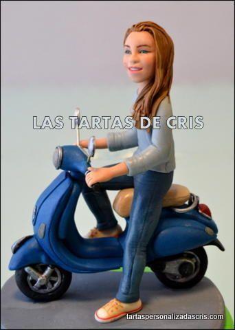 La Vespa - Cake by LAS TARTAS DE CRIS