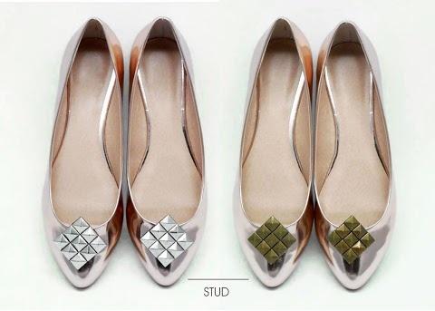 shoe clips with studs  https://www.facebook.com/coquet.art