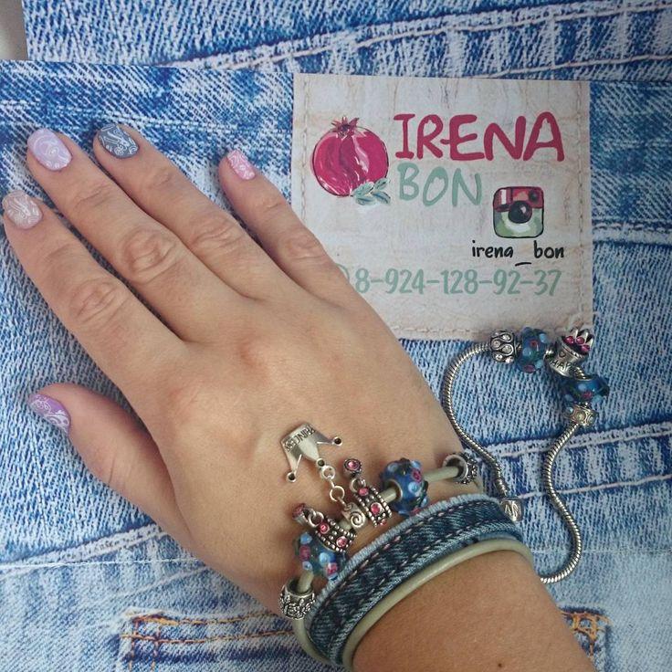 42 отметок «Нравится», 1 комментариев —  Душевные украшения  (@irena_bon) в Instagram: «#браслетдляпринцессы#украшениядлянастроения#принцессытожелюбятджинсы#дэним#джинсовоенастроение#люблюджинсы#handmadeby➡irenabon#handmade_nakhodka#jewelryby➡irena_bon#браслеты#браслетикспандоркой…»