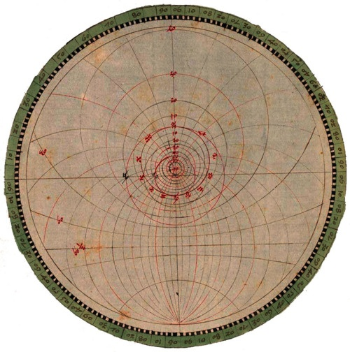 Astronomische Zeichnungen, BSB Cod.icon. -- Astronomical Drawing, Vienna, 1508 - 1520: