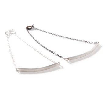 We Heart This - Silver Bar Bracelet