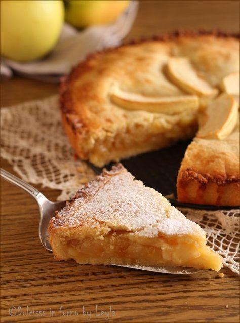 Crostata di mele coperta: la Crostata Cuor di mela