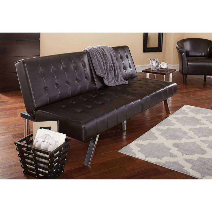 Sofa Bed Couch Recliner Convertible Futon Indoor Furniture Living Room Modern  #Mainstays