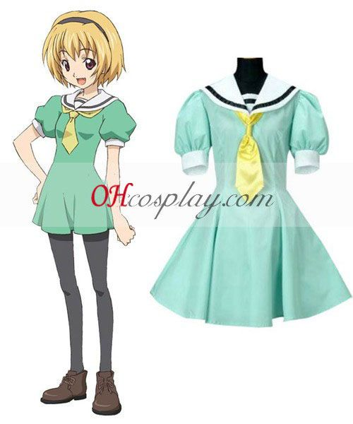 When They Cry Satoko Hojo Cosplay Costume