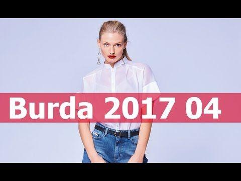 Burda 04 2017 / Бурда 04 2017  технические рисунки + модели в деталях
