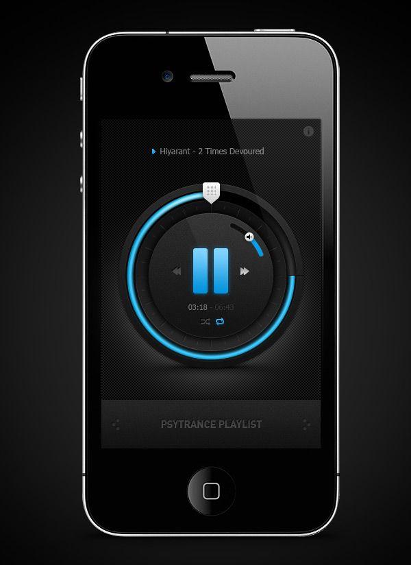 Inspiring iPhone App designs
