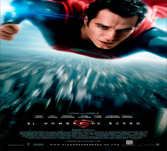 """Superman El hombre de acero """"Man of Steel"""" Clark Kent, one of the last of an extinguished race disguised as an unremarkable human, is forced to reveal his identity when Earth is invaded by an army of survivors who threaten to bring the planet to the brink of destruction."""