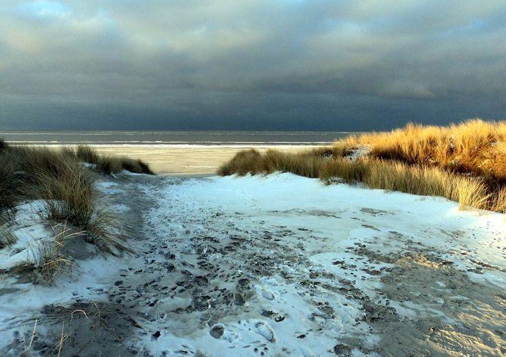 Winter auf der Nordseeinsel Juist