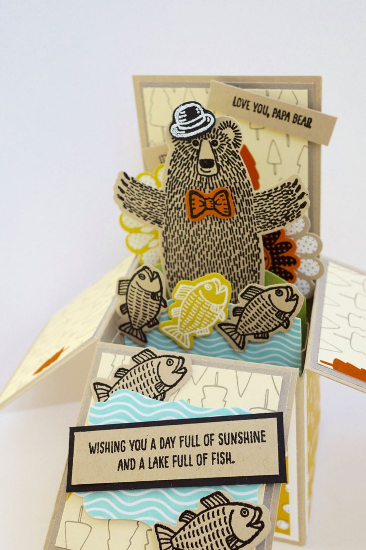 Father's Day Card by AnnaChildsDesign on Etsy
