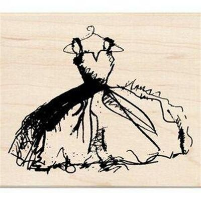 1000 images about lovelymymother 39 sdressforyou on for Wedding dress rubber stamp
