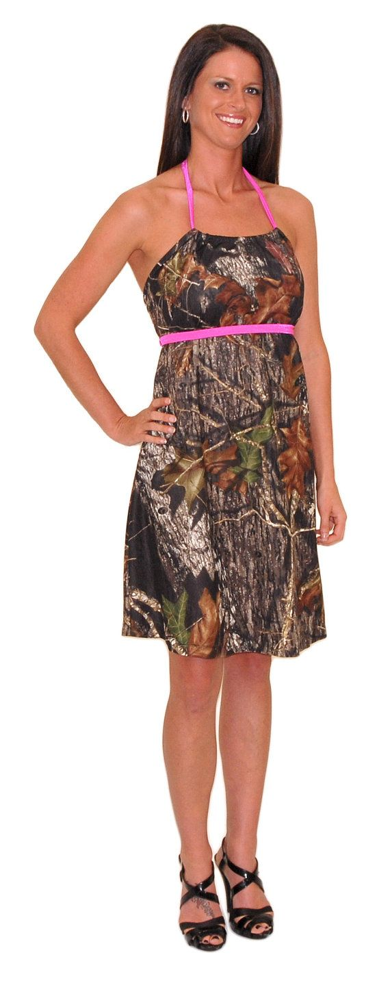 Camo Diva Allison Camo Bridesmaid Dress by CamoDiva on Etsy