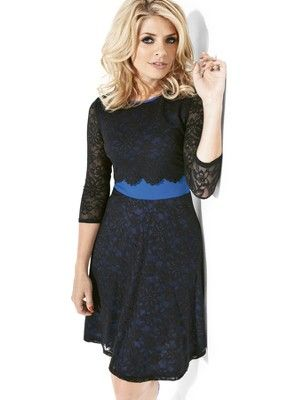 Holly Willoughby Contrast Panel Lace Dress, http://www.littlewoodsireland.ie/holly-willoughby-contrast-panel-lace-dress/1301822101.prd