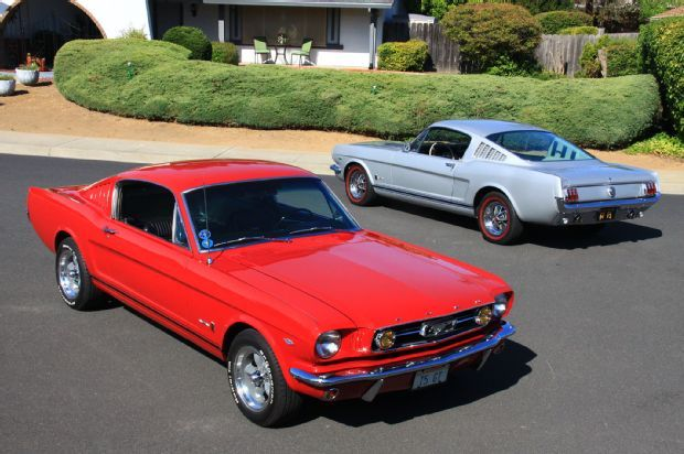 Two 1966 Ford Mustang Gts