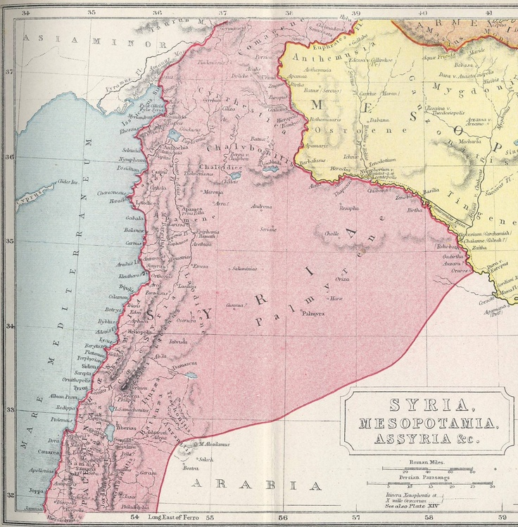 A map of Ancient Syria 111 best