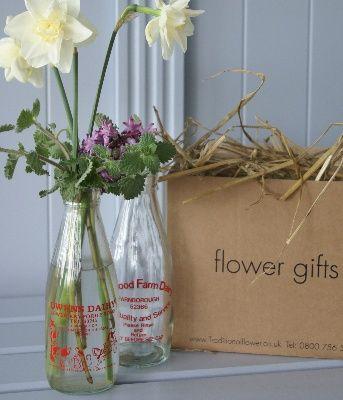 Card/ bar arrangements?? Tall arrangements to go with Mason Jars?? :  wedding hydrangea mason jars Flowers Milk Glass