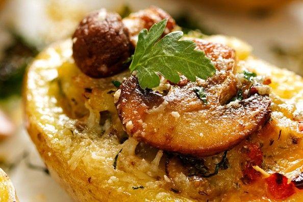 Barchette di patate ai funghi - Fidelity Cucina