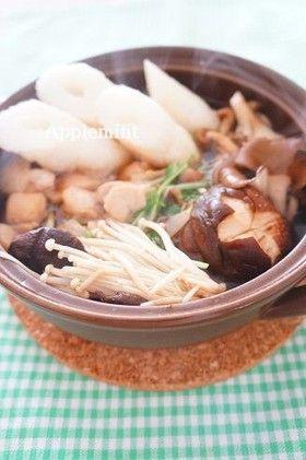 簡単手作り♪きりたんぽ鍋