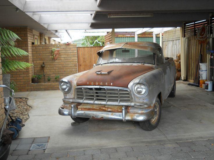 1958 FC Holden Ute Restoration project running