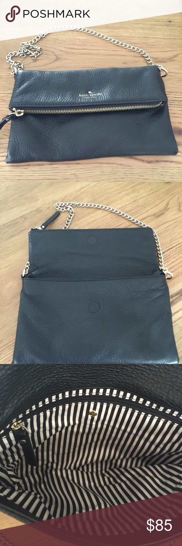 Kate spate handbag black Kate spade handbag.  Black with gold tone chain.  Great condition kate spade Bags Shoulder Bags