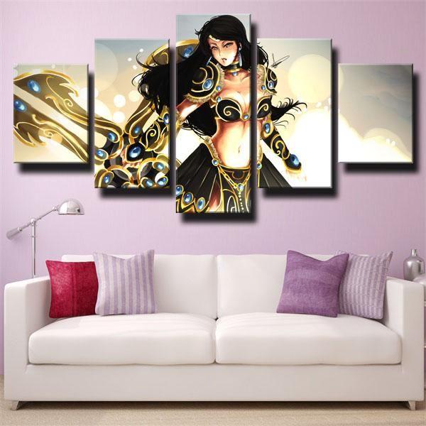 Dota 2 Medusa Canvas Wall Decor Wall Art Canvas Prints Canvas Art Wall Decor