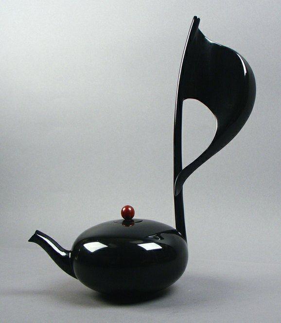 Musical Note tea pot ~ by Mirabelli Designs, Wenatchee, WAMusic Inspiration, Nails Art, Teas Time, Teas Pots, Milo Mirabal, Note Teapots, Milo Mirabelli, Art Music, Music Notes
