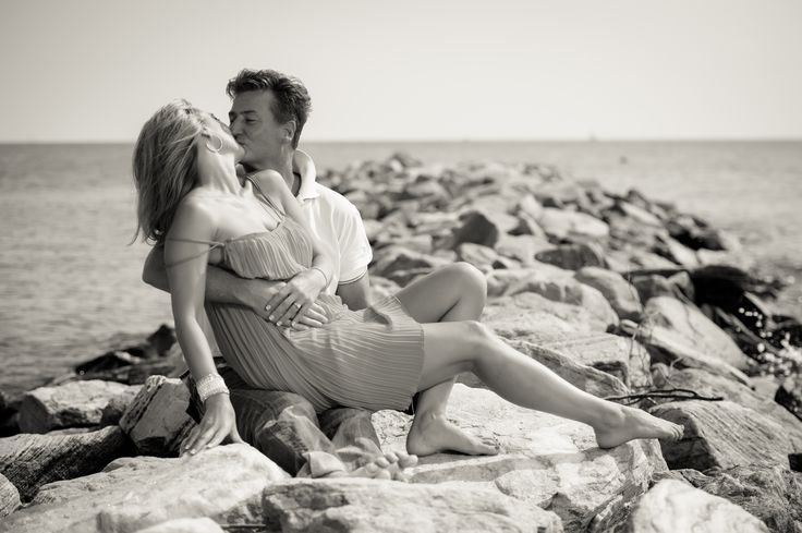 Maria and Johnny's Engagement Session at Podickory Point Marina in Annapolis, Maryland!