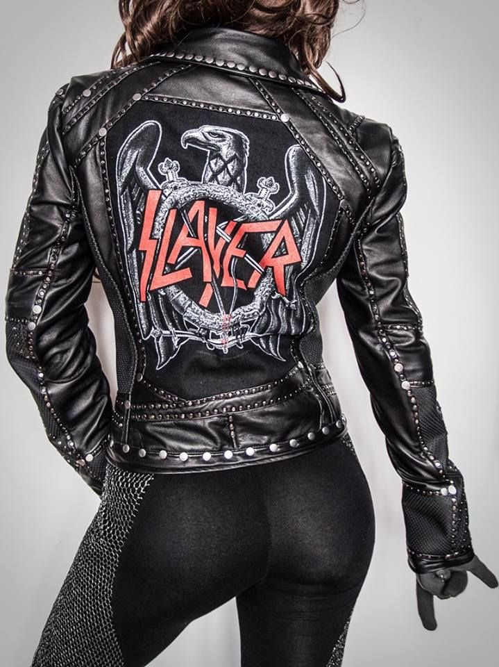 Very Stylish Girl Wallpapers Slayer Jacket Thunderball Clothing Badass Regalia In