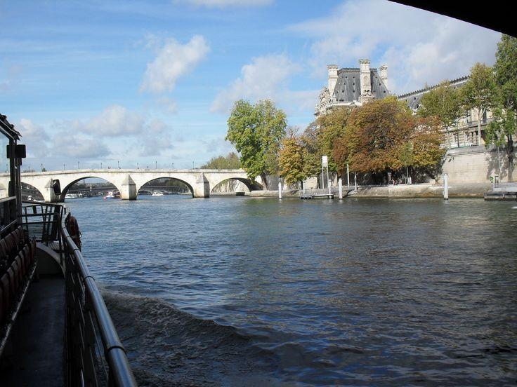 The Seine River, Rio Sena, Paris, France