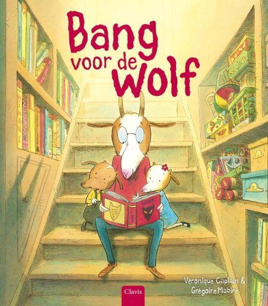 Veel geblaat en weinig wolf... Veronique Caplain schreef een heerlijk grappig verhaal over boeken en over lezen (en over wolven). Het bevat illustraties va