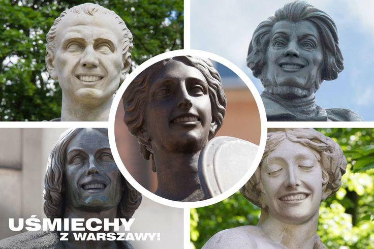 Niestandardowa akcja blend-a-med (sierpień, 2013). Dzięki zastosowaniu aplikacji Layar, 5 warszawskich pomników porzuciło posągowy wyraz twarzy i zaczęło się uśmiechać.