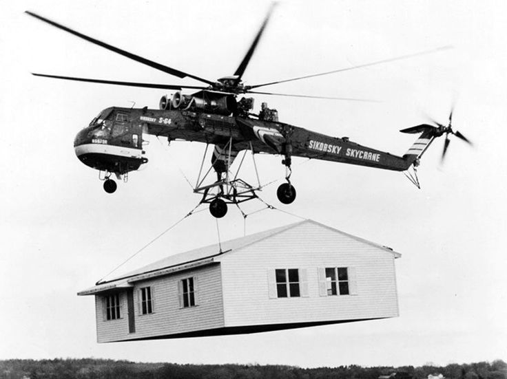 CH-54 Tarhe delivering 1st Cavalry Divisions 155mm