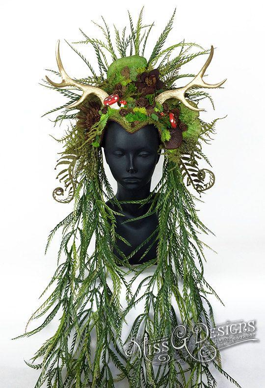 Miss G Designs Etsy listing at https://www.etsy.com/listing/293020619/mother-nature-headdress