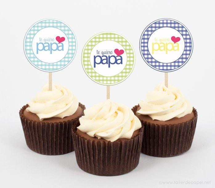 Para celebrar Papá en su día! Tarjetas y Etiquetas para regalar y decorar!