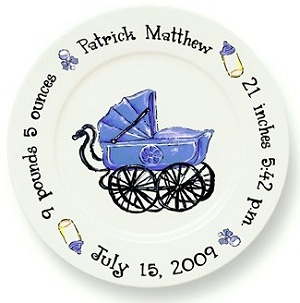 These personalized plates are super cute  sc 1 st  Pinterest & 22 best ? Personalized Ceramic Plaques u0026 Plates ? images on ...