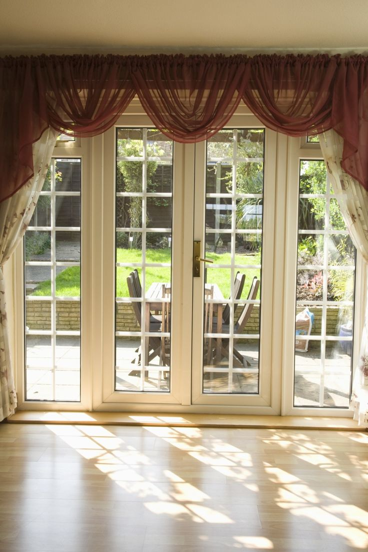 Double Sliding Glass Doors Window Treatments