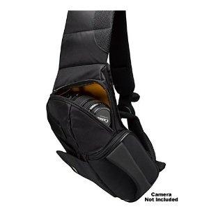 Case Logic Digital SLR Sling Camera Bag/Case (Black) (SLRC-205) for Canon EOS 7D, 5D, 60D, 50D, Rebel T3, T3i, T2i, T1i, XS  $50