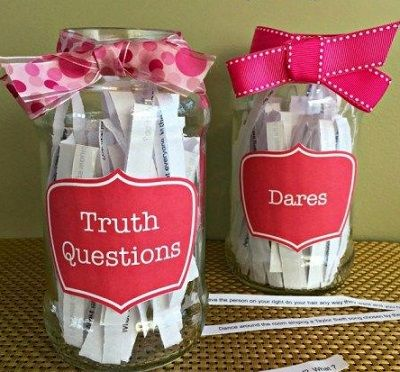 Luke never told the truth, he always took the dare! Wedding Magazine - The best games for your bridal shower! #TheKissofKismet #LukeDrake #BridalShowerGames