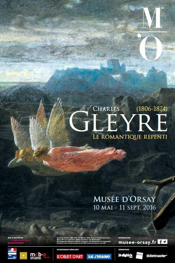 Charles Gleyre (1806-1874), le romantique repenti. Paris, Musée d'Orsay. Du 11 mai au 11 septembre 2016.