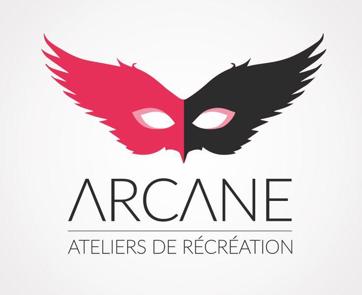 Création du logo de la société Arcane, Ateliers de récréation, à PARIS.