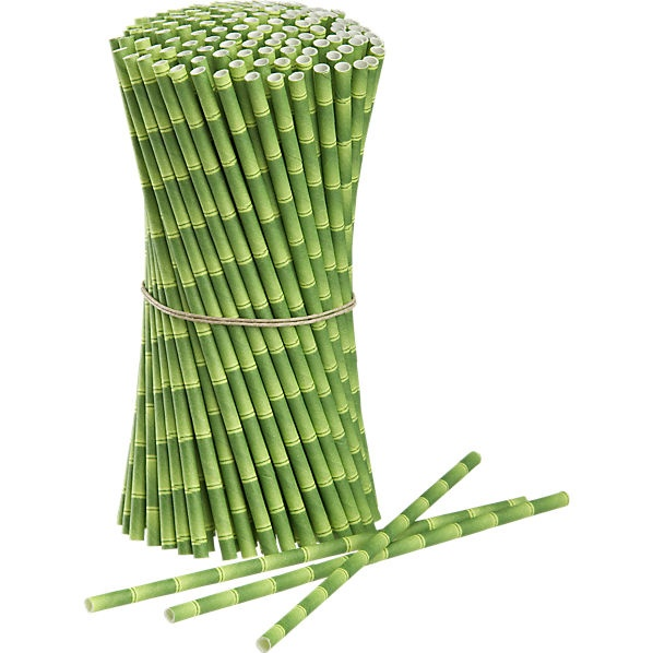 These bamboo straws are so cute. Biodegradable and compostable too :)